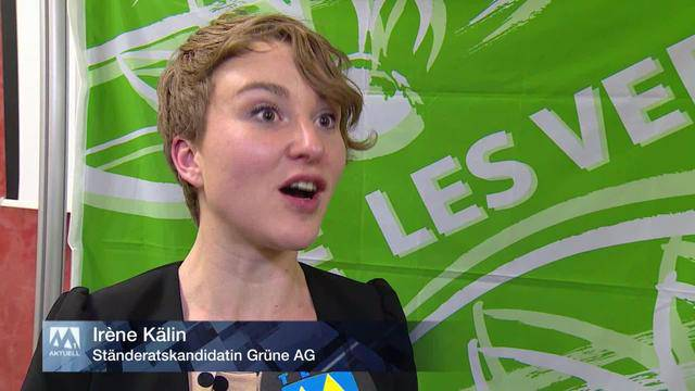 Die Grüne Irène Kälin will Sitz im Nationalrat retten und kandidiert für den Ständerat