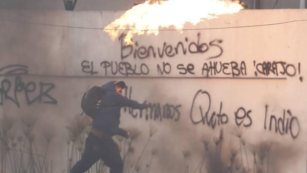 Ecuadors Präsident zieht umstrittenes Treibstoff-Dekret zurück