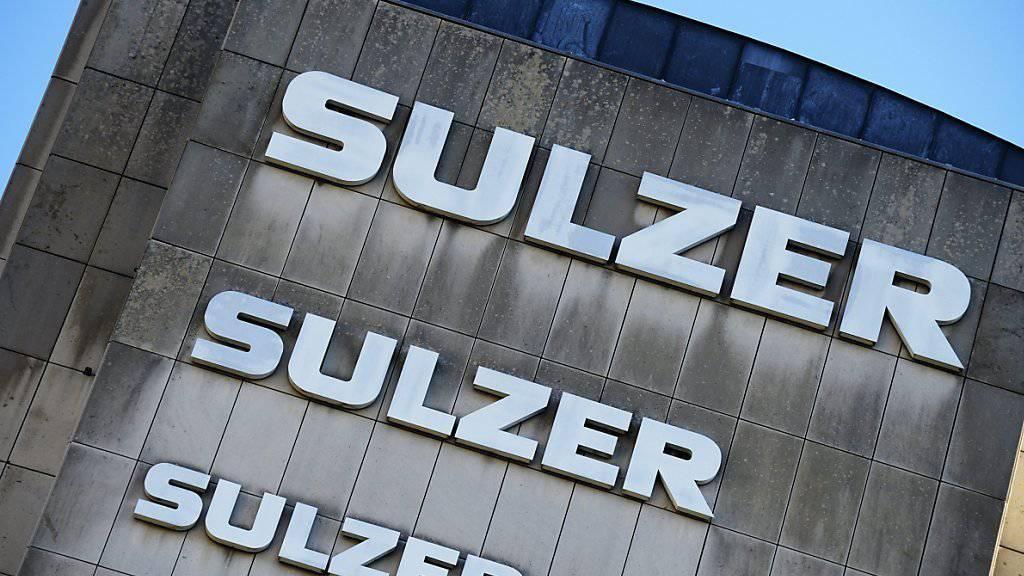 Der Winterthurer Traditionskonzern Sulzer schnallt den Gürtel angesichts der schwächelnden Nachfrage enger.