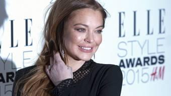Unter ständiger Beobachtung: US-Schauspielerin Lindsay Lohan wäre dankbar, wenn sie zumindest in Ruhe mit ihrem Verlobten streiten könnte. (Archivbild)