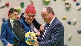 Wettingen feiert «seinen» Landammann Markus Dieth