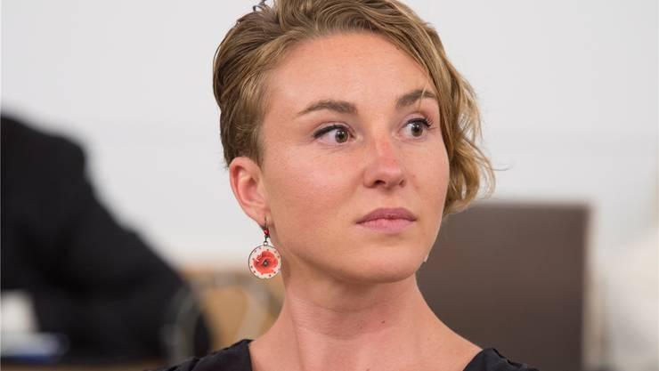 Irène Kälin, Ständeratskandidatin der Grünen.