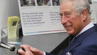 Prinz Charles macht keinen Hehl aus seiner Liebe zur Natur (Archiv)