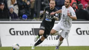 Neumayr sicherte dem FCA mit einem Tor und einem Assists das Unentschieden.