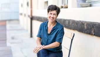 Autorin Nathalie Schmid in Obersiggenthal AG.