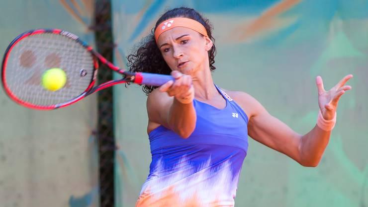 Die Aargauerin Amra Sadikovic, 2016 im Hauptfeld von Wimbledon, ist die Topfavoritin am Schützenmatt Cup 2017. ZVG