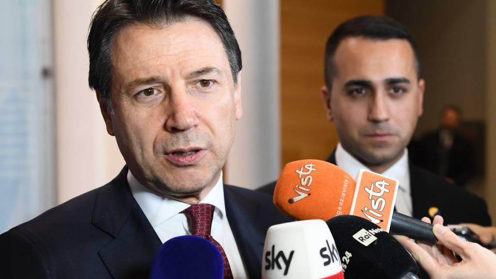 Luigi Di Maio tritt als Chef der Regierungspartei Fünf-Sterne-Bewegung in Italien zurück. (Archivbild)