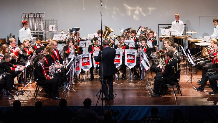 Da gab es die B-Formation der Oberaargauer Brass Band noch: Am Schweizerischen Brass-Band-Wettbewerb 2013 in Montreux. zvg