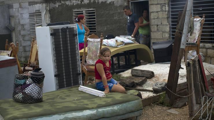 Auf Kuba hinterlässt «Irma» viele jetzt obdachlose Menschen.