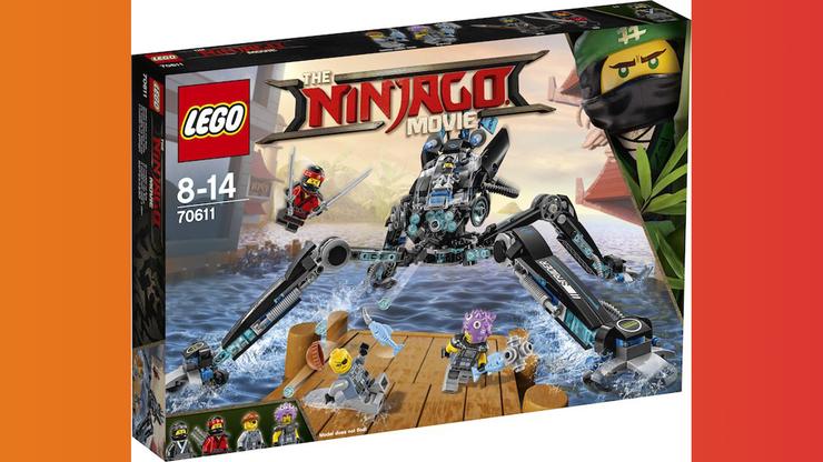 Wunsch-Nr. 75, Damian, 6 Jahre, LEGO Ninjago Movie Nya's Wasser-Walker (70611), z.B. bei Digitec/Galaxus, CHF 43