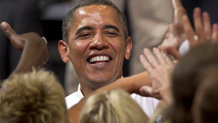 Wahlkämpfer Barack Obama.