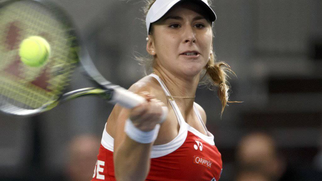Belinda Bencic trifft auch in den Halbfinals in Taiwan auf eine Schweizerin.