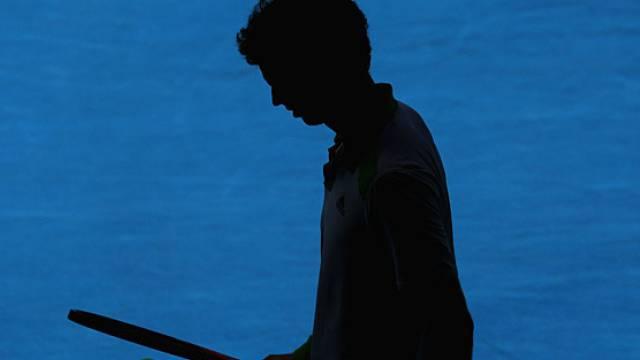 Andy Murray gab erstmals einen Satz ab