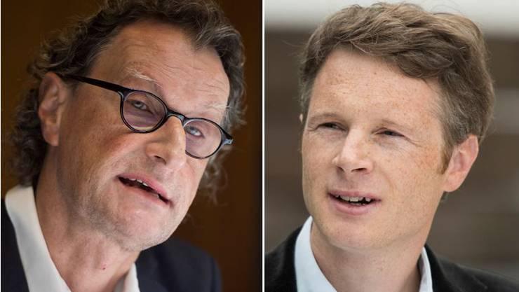 Geri Müller und Jonas Fricker