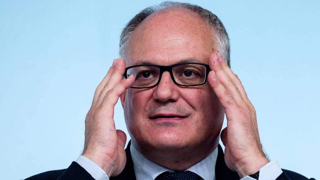 Italien rechnet mit leicht höherem Haushaltsdefizit