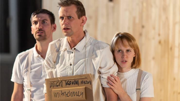 Im Stück «Ver-Ding» werden Kinderschicksale aus Baselland und Basel-Stadt verhandelt. (zvg / Ernst Rudin)