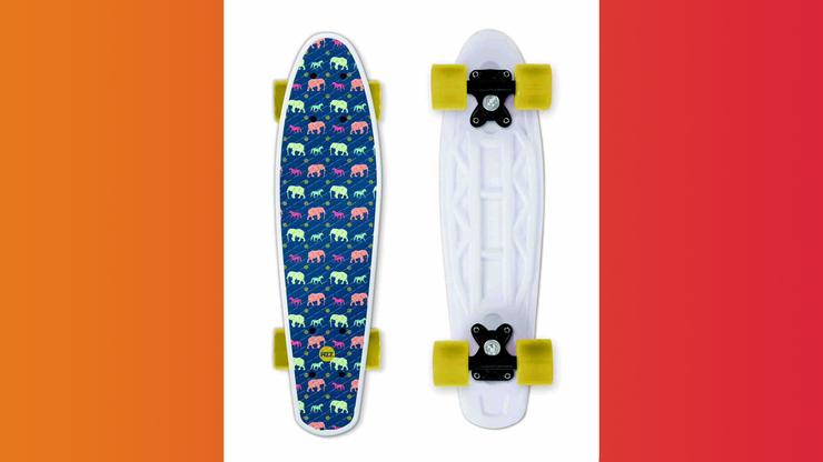 Wunsch-Nr. 58, Noah, 5 Jahre, Skateboard Elefanten, Manor, CHF 49.90