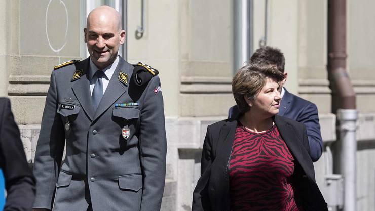 Verteidigungsministerin Viola Amherd (CVP) und Armeechef Thomas Süssli orchestrierten die grösste Mobilmachung seit dem Zweiten Weltkrieg.