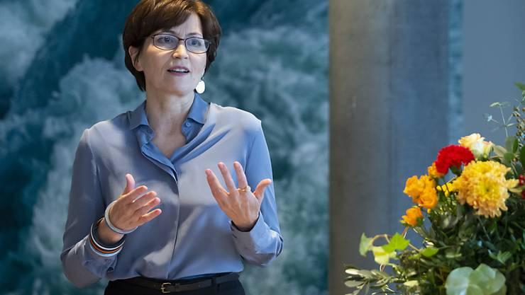 Will in den Bundesrat: Regula Rytz, Berner Nationalrätin und Parteichefin der Grünen. (Archivbild)