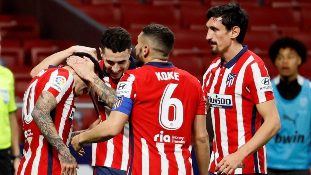 Atlético Madrid setzt die Siegesserie fort