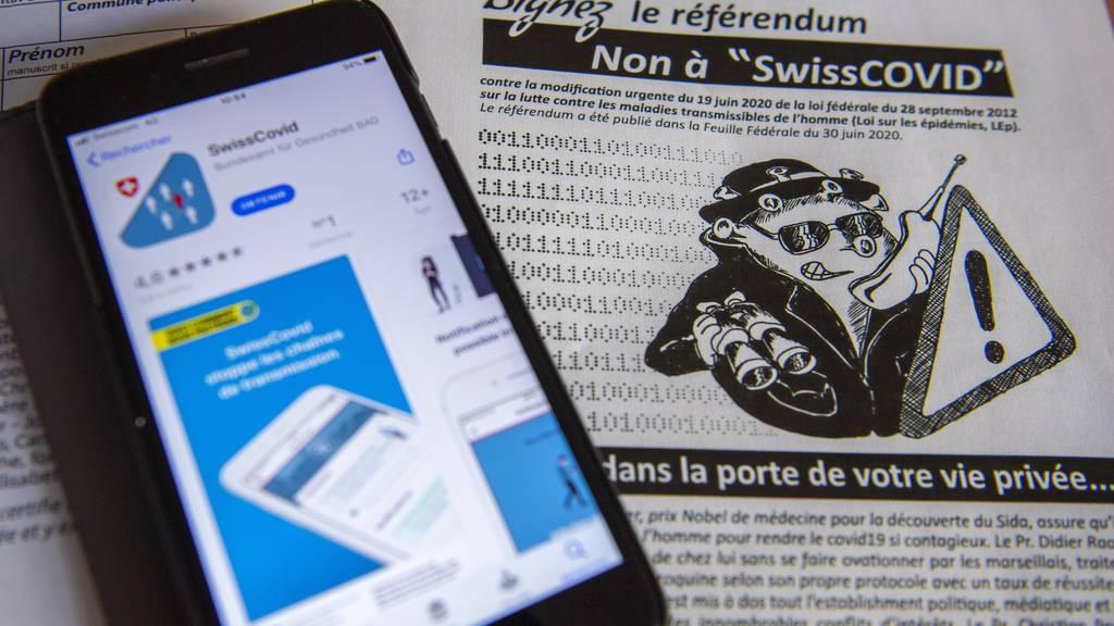 Referendum gegen SwissCovid-App scheint nicht zustande zu kommen – Komitee droht mit Klage