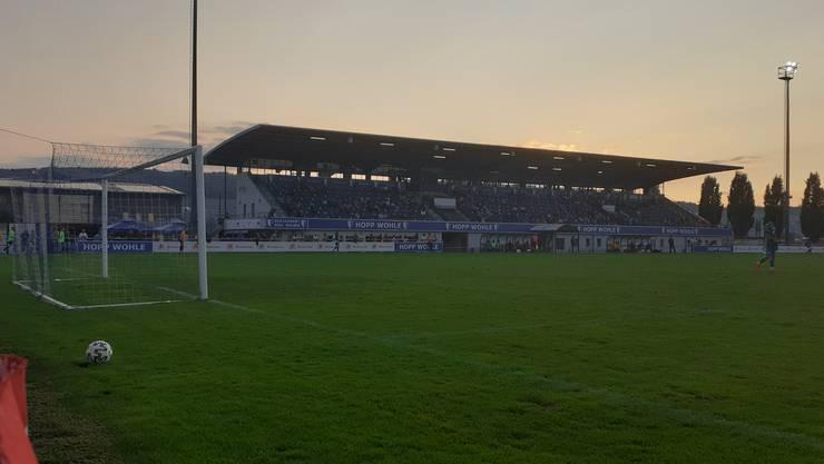 Der FC Wohlen spielt gegen den FC Bassecourt 1-1.