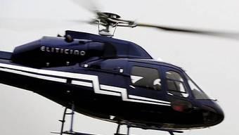 Sektenguru flieht per Helikopter