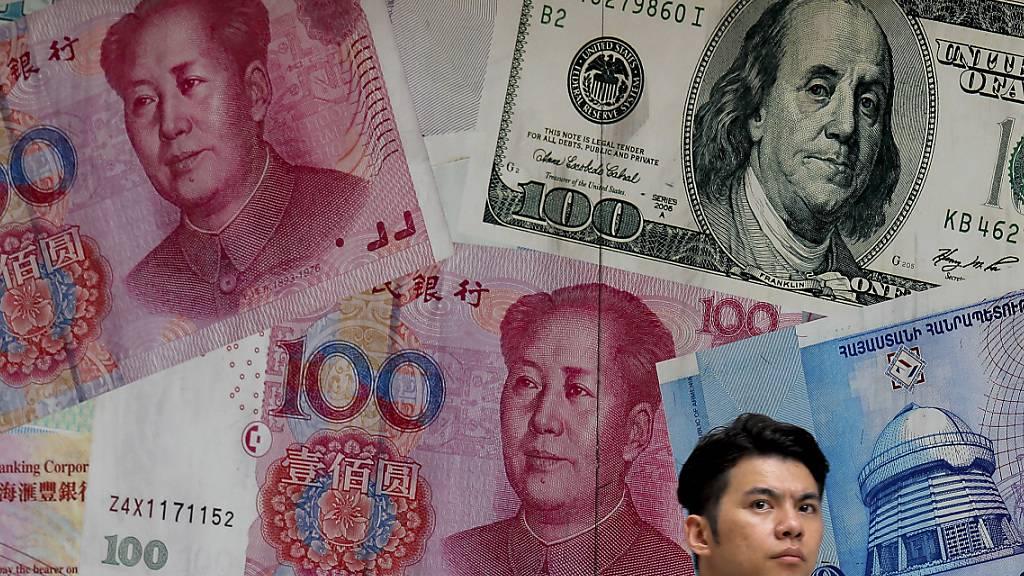 USA werfen China keine Währungsmanipulation mehr vor