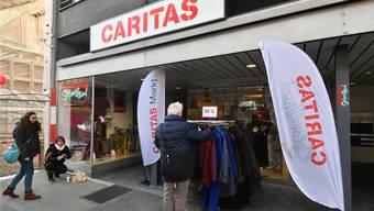 Die Caritas gehört zu den Institutionen, die von freiwilligen Sozialbeiträgen der Gemeinden profitieren.