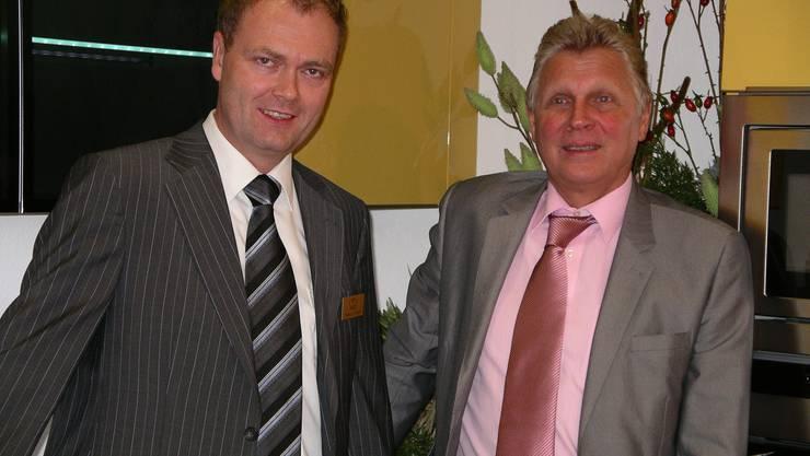Markus Ulrich (links) und Hans Zuberbühler, sowie das ganze Team freuen sich auf Ihren Besuch!