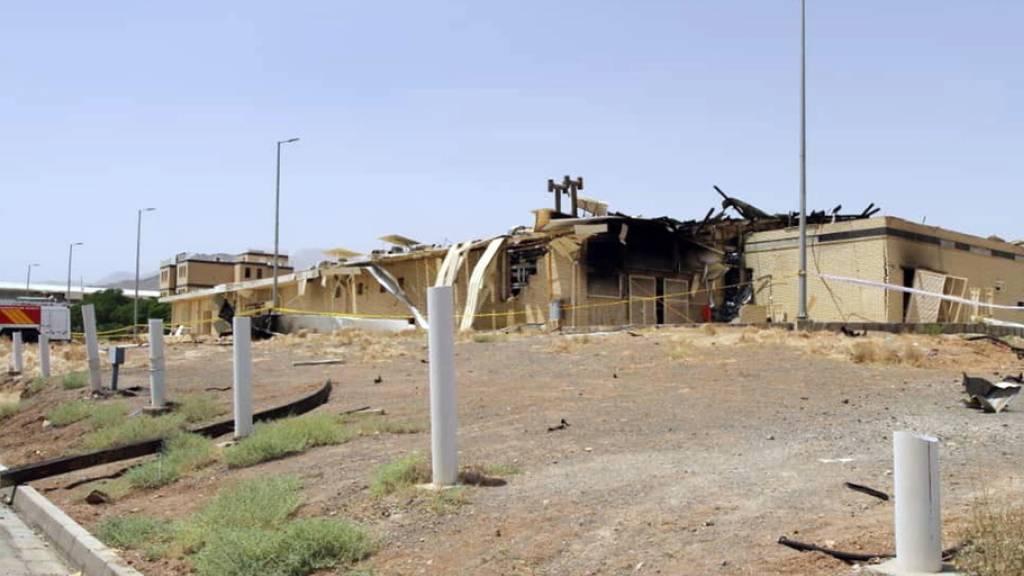 «Beachtliche Schäden» nach Brand in Atomanlage