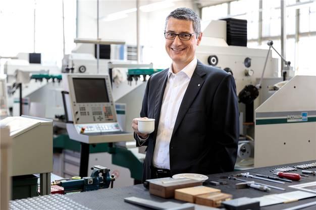 Swissmechanic Solothurn-Geschäftsführer Enzo Armellino