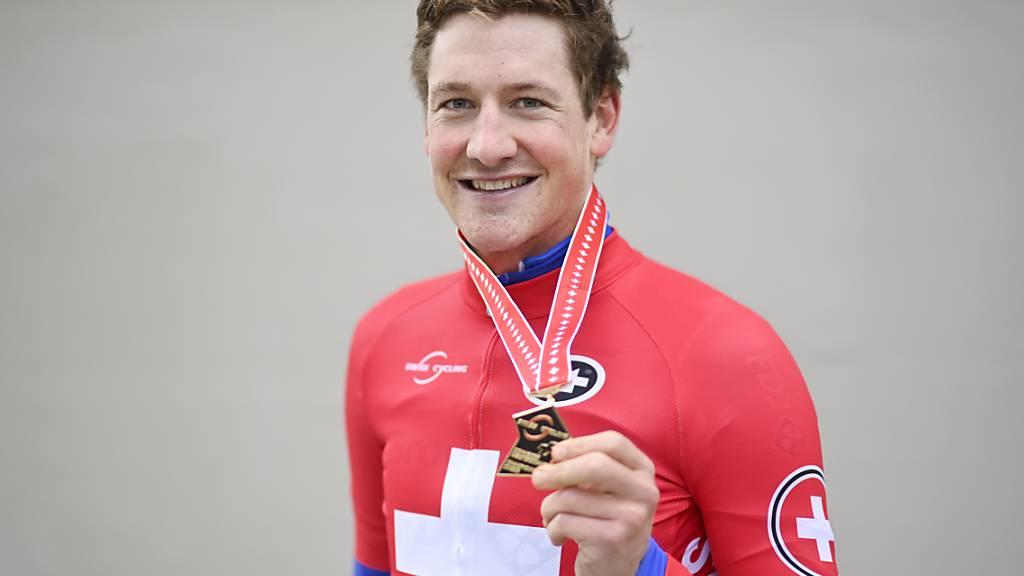 Stefan Küng machte sich - wie fast alle aktuellen Schweizer Topfahrer - zuerst auf der Bahn einen Namen