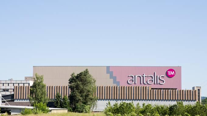 Gebäude des Papierherstellers Antalis in Lupfig. (Archivbild)