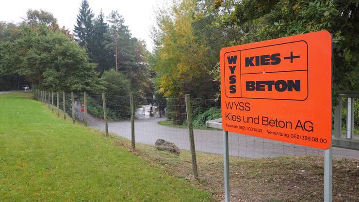 Die Härkinger Wyss Kies + Beton AG gehört bald dem Baustoffzentrum Olten/Zofingen