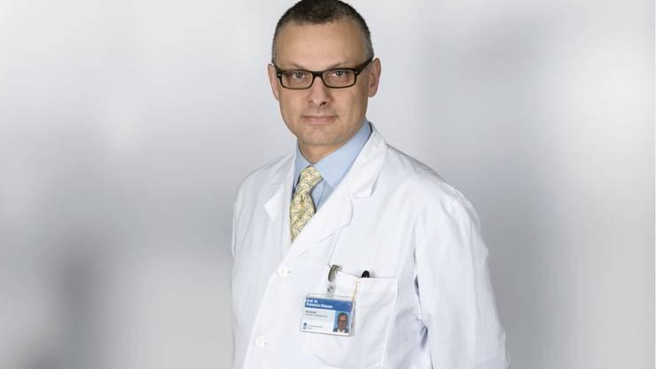 Erst gefeiert, dann beurlaubt: Francesco Maisano, Ex-Klinikdirektor der Herzchirurgie am Unispital Zürich.