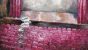 Ein Ausschnitt aus dem Comic von Yves Novau