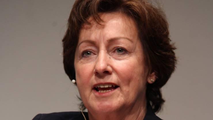 Nationalrätin Sylvia Flückiger warb für zwei Nein am 14. Juni.