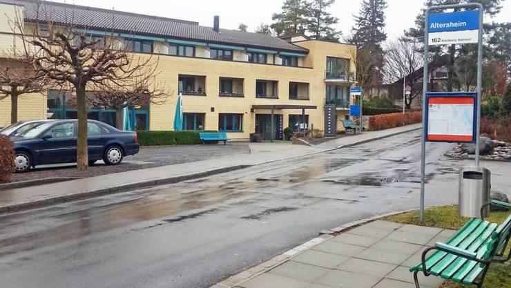 Hier spielte sich die Tat ab: Das Alterszentrum Hochweid in Kilchberg