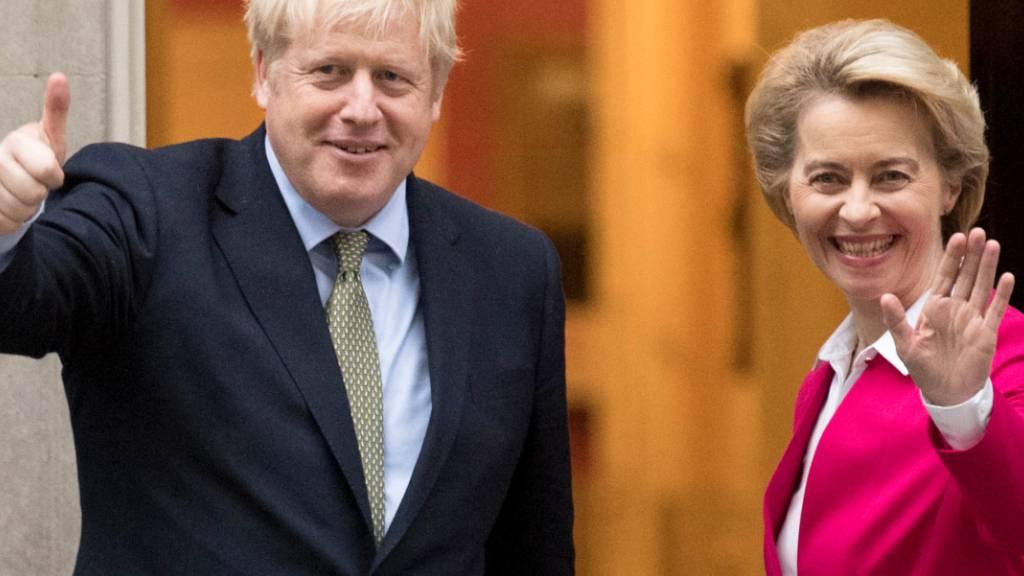 «Dinner for two»: Johnson und von der Leyen verhandeln in Brüssel