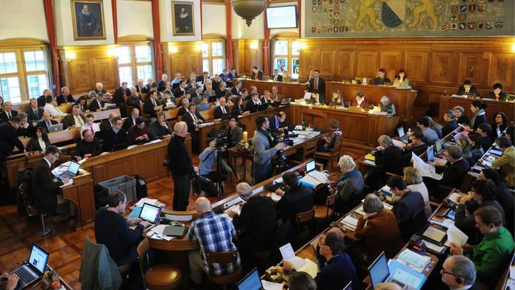 Der Zürcher Kantonsrat bei der Beratung für das Budget 2013.