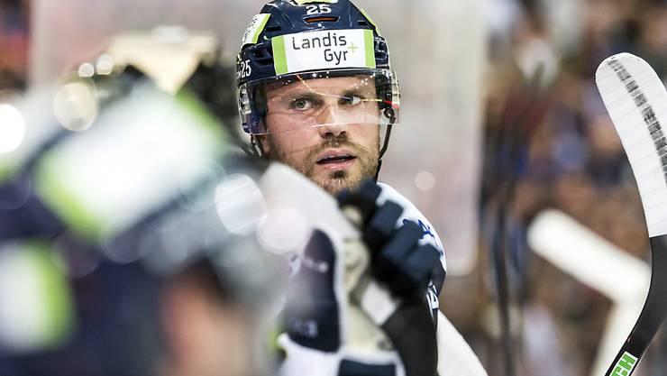 Viktor Stalberg wird den EV Zug während der Nationalmannschafts Pause verlassen