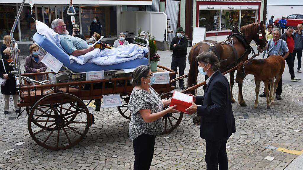 Petition für den Erhalt des Spitals Appenzell eingereicht