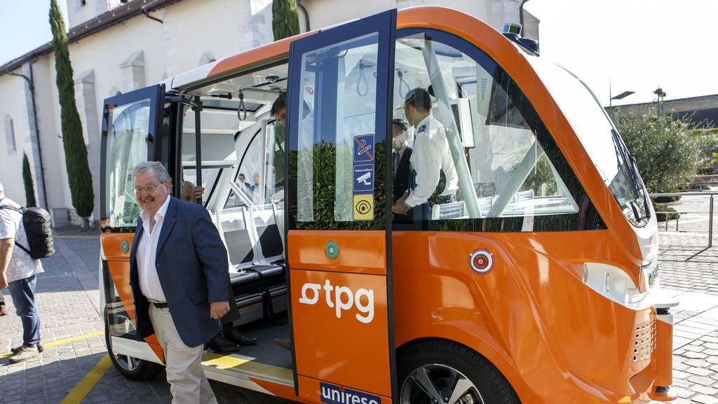 Fahren bald autonome Busse durch St.Gallen?