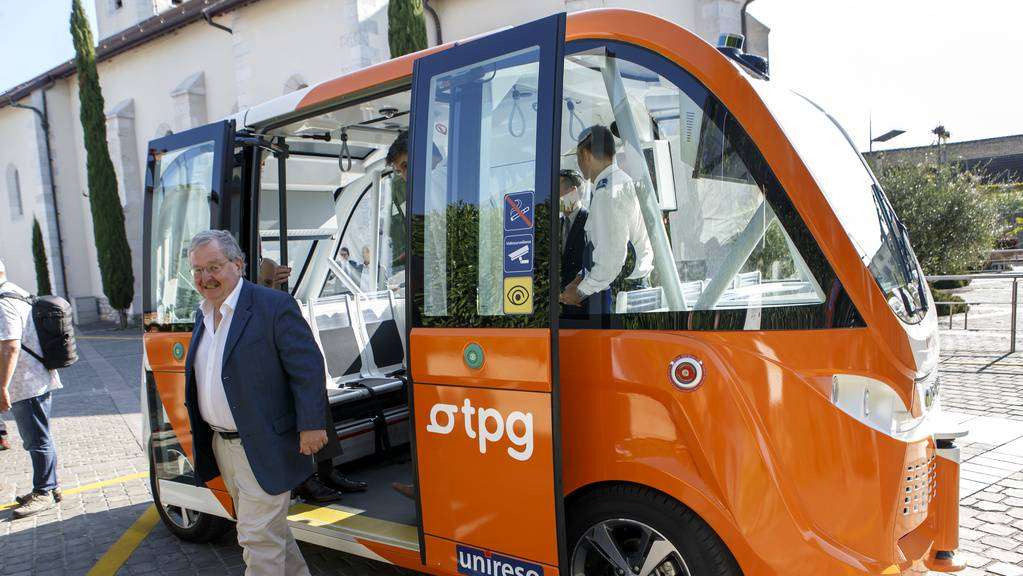 Autonomer Bus Genf