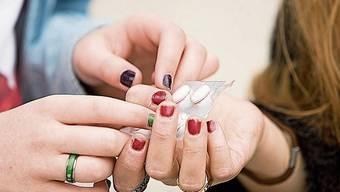 Einige Teenager werfen sich Xanax wie Tic Tacs ein.