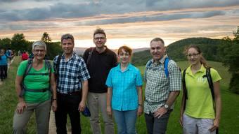 13. Etappe von der Staffelegg auf die Barmelweid: die Bilder