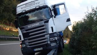 Betrunkener Chauffeur verursacht Unfall auf A3 bei Rheinfelden