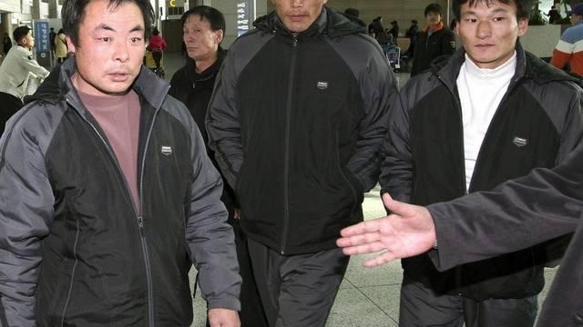 Freigelassen: Die drei chinesischen Fischer
