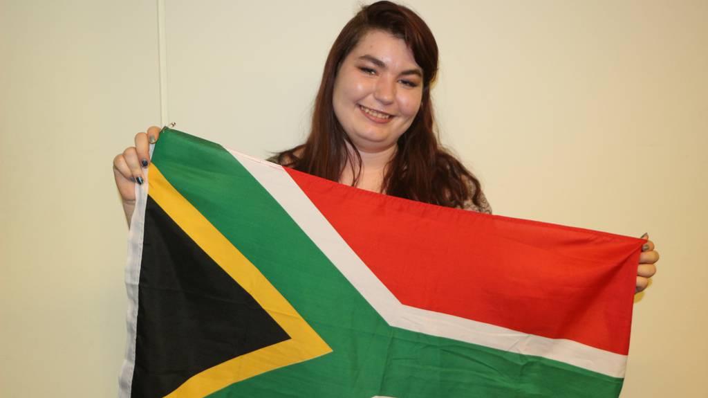 Naomi Fehlmann aus Turgi 36 Grad Südafrika
